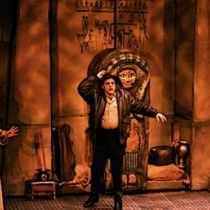 As Alcazar with Tom Souhrada in The Mystery of Irma Vep