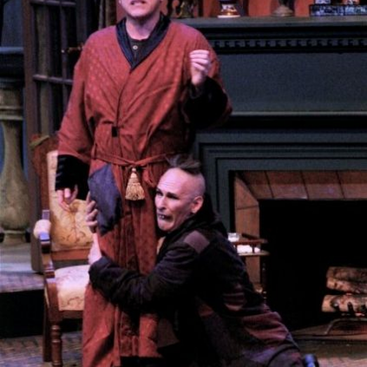 As Nicodemus with Tom Souhrada in The Mystery of Irma Vep