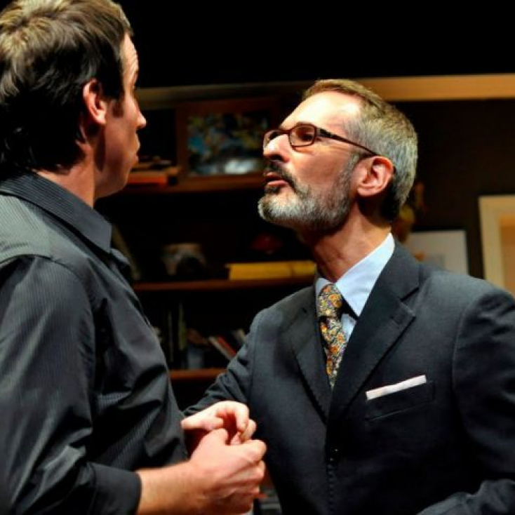As Cedric West with Aaron Davis in Critical Mass