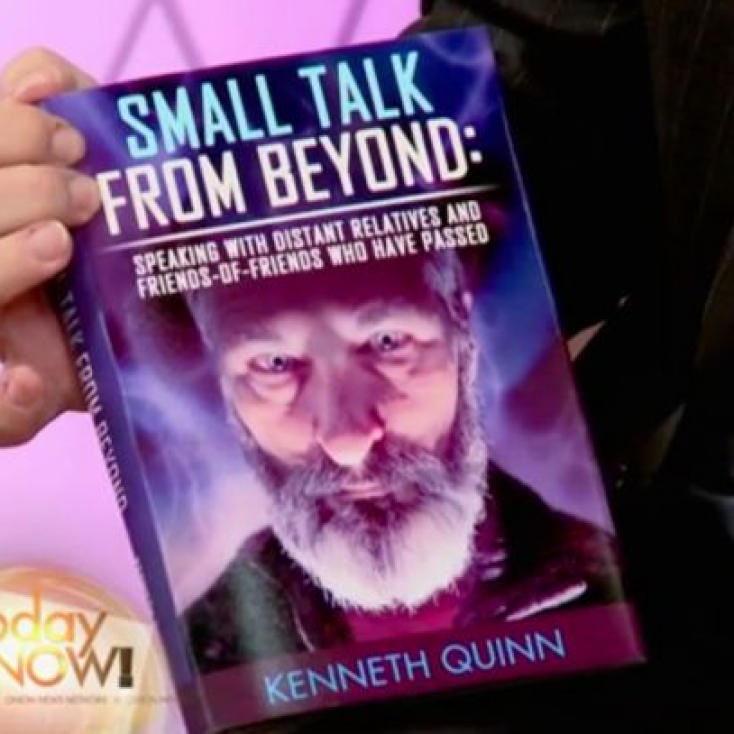 As psychic medium Kenneth Quinn on The Onion