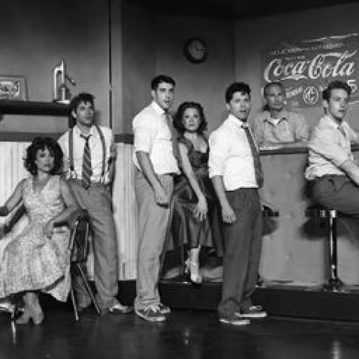 "As Doc in ""West Side Story"" at the Summer Theatre of New Canaan"