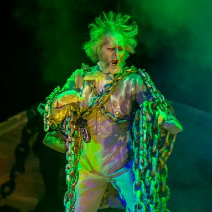 "As The Ghost of Jacob Marley in ""A Christmas Carol"" at the Hanover Theatre"