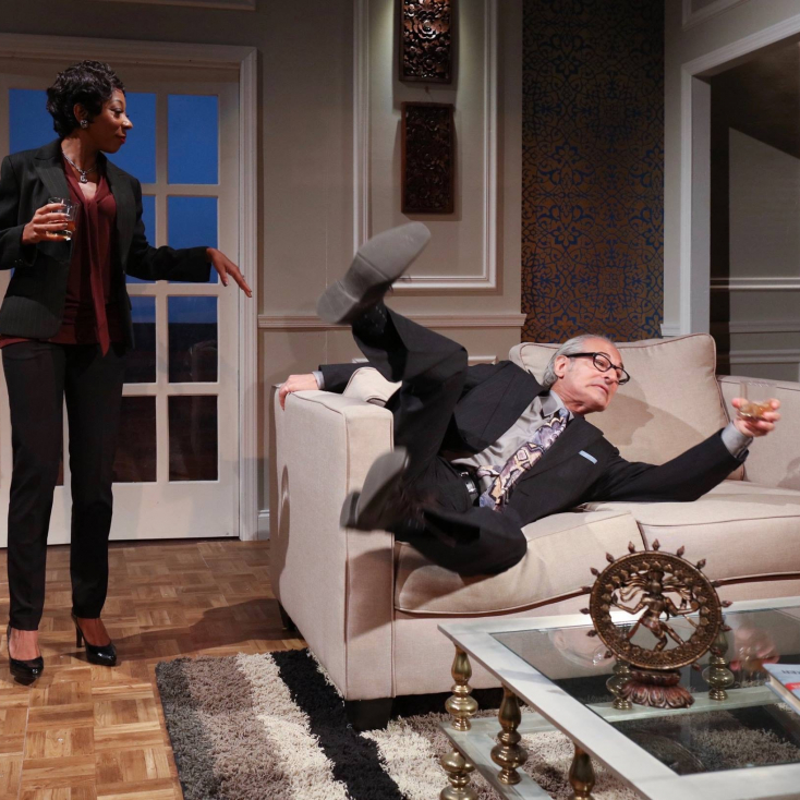"As Isaac in ""Disgraced"" at Cape May Stage"
