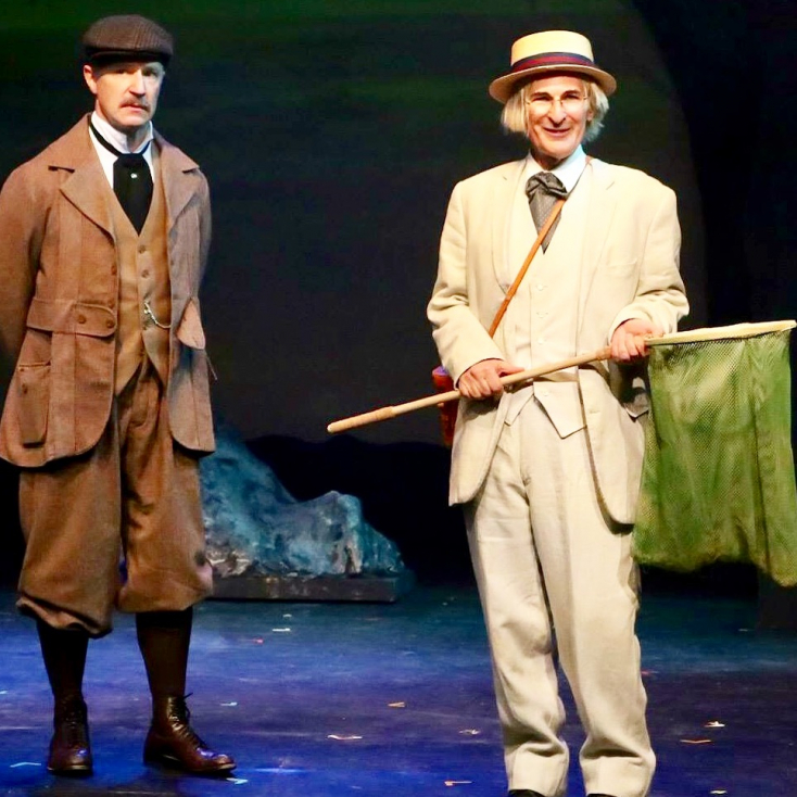 "As Actor 1 in ""Baskerville"" at Sierra Rep"