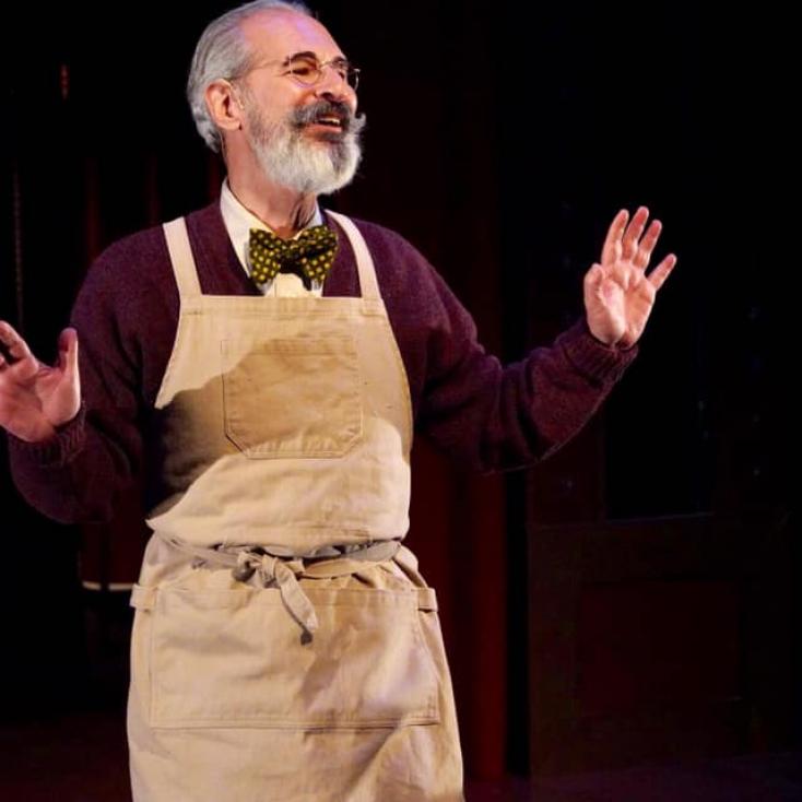 """As Herr Schultz in """"Cabaret"""" at Sierra Rep"""